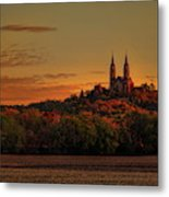 Holy Hill Sunrise Panorama Metal Print