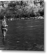 Hoover Fishing Metal Print