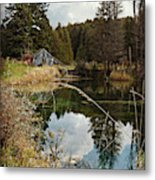 Horning's Home Metal Print