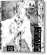 Horse Front 3 Metal Print
