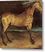 Horse In The Storm 1821 Metal Print