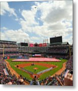 Houston Astros  V Texas Rangers Metal Print