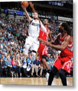 Houston Rockets V Dallas Mavericks Metal Print