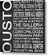 Houston Tx 6 Metal Print
