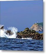 Huatulco Lighthouse Metal Print