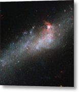 Hubbles Hockey Stick Galaxy Metal Print