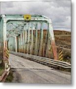 Hwy 552 Bridge Metal Print
