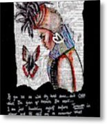 I Am A Woman Metal Print
