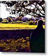 I Can Feel It Coming In The Air Metal Print