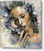 I Saw You And I Just Knew Metal Print