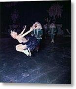 Ice Dancer Metal Print