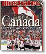 Ice Hockey, 2010 Winter Olympics Sports Illustrated Cover Metal Print