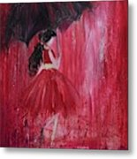 If It Rains Will You Be There For Me Metal Print