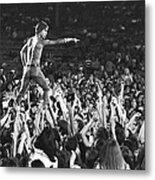 Iggy Pop Live Metal Print