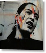 I'll Be Seeing You - Billie Holiday  Metal Print