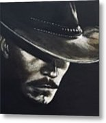 I'm Your Huckleberry Metal Print