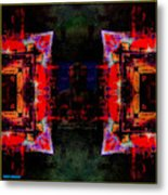 imagery in healing in a Buddhism way Metal Print