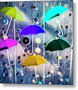 Imagination Raining Wild Metal Print