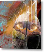 In The Hall Of The Nano King Metal Print