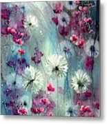 In The Night Garden - Pink Buds  Metal Print