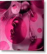 In The Pink Metal Print