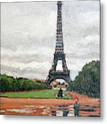 In The Summer When It Sizzles? Metal Print