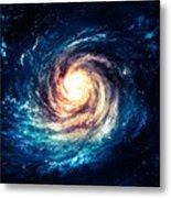 Incredibly Beautiful Spiral Galaxy Metal Print