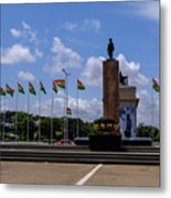 Independence Square Statue Metal Print