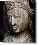 Indian Temple Goddess Metal Print