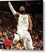 Indiana Pacers V Miami Heat Metal Print