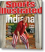 Indiana University Cody Zeller, 2012-13 College Basketball Sports Illustrated Cover Metal Print