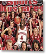 Indiana University Victor Oladipo, 2013 March Madness Sports Illustrated Cover Metal Print