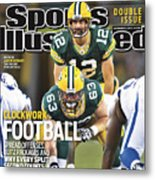 Indianapolis Colts V Green Bay Packers Sports Illustrated Cover Metal Print