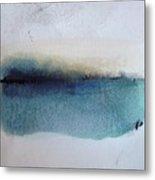 Indigo Blue Metal Print