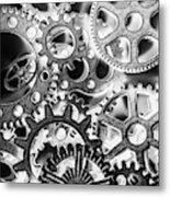 Industry Iron Metal Print
