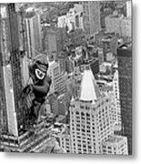 Inflatable King Kong On The Empire Metal Print
