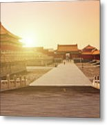 Inside The Forbidden City Metal Print