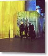 Into The Picture Metal Print