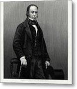 Isambard Kingdom Brunel, British Metal Print
