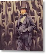 Isambard Kingdom Brunel, Genius Metal Print