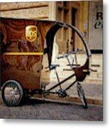 Italian Delivery Metal Print