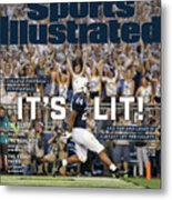 Its Lit And The 2018 Crazy Is Already Off The Charts Sports Illustrated Cover Metal Print