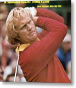 Jack Nicklaus, 1975 Masters Sports Illustrated Cover Metal Print