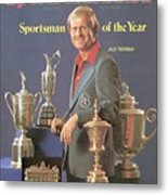 Jack Nicklaus, 1978 Sportsman Of The Year Sports Illustrated Cover Metal Print