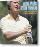Jack Nicklaus, 1986 Masters Sports Illustrated Cover Metal Print