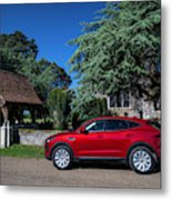 Jaguar E-pace Metal Print