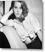 Jane Fonda Metal Print