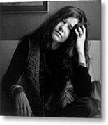 Janis Joplin Metal Print