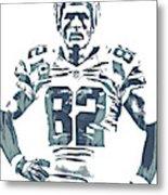 Jason Witten Dallas Cowboys Pixel Art 22 Metal Print