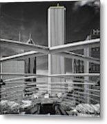 Jay Pritzker Pavilion Infrared Metal Print